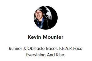 Profil Kevin Mounier Running Heroes